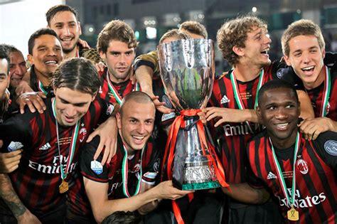 AC Milan se proclamó campeón de la Supercopa de Italia