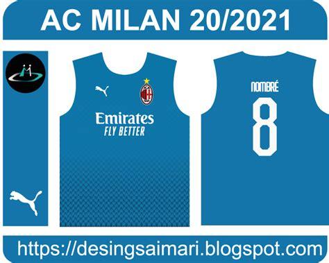 Ac Milan Third 2020 2021   Aimari Ec