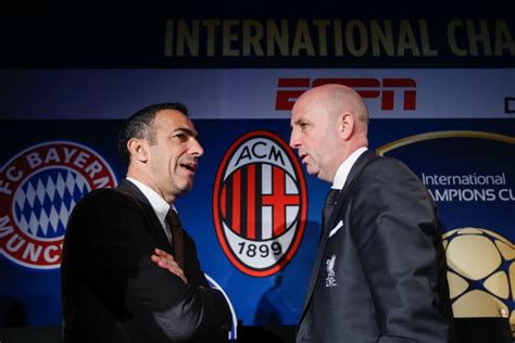 AC Milan to compete in the International Champions Cup