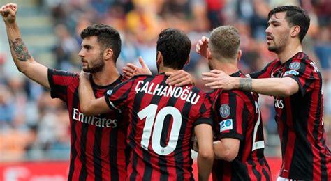 AC Milan venció 4 1 a Hellas Verona en la fecha 36 de la ...