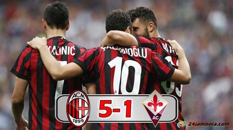 AC Milan vs Fiorentina 5 1, Highlight dan Goal, Liga ...