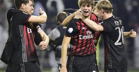 AC Milan win Super Cup after penalty shootout
