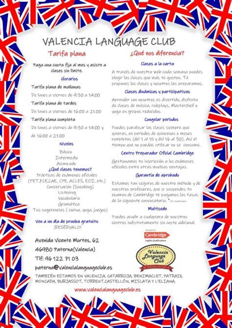 Academia de idiomas VALENCIA LANGUAGE CLUB   academias ...