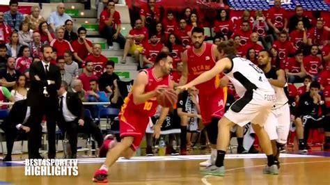 ACB Basketbola Līga   Ucam Murcia CB   Dominion Bilbao ...