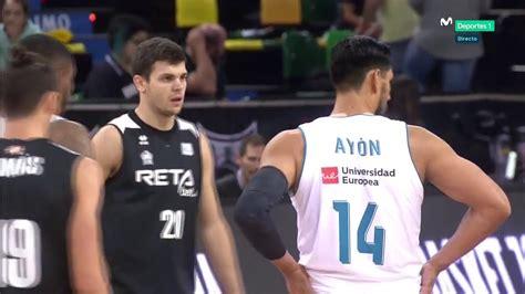 ACB J2/ BILBAO BASKET vs REAL MADRID  1  ALLSPORTS   YouTube