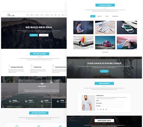 Accede   Digital Agency WordPress Theme  With images ...