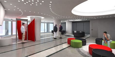 Acceso Edificio Coca Cola   Bark Arquitectura Corporativa