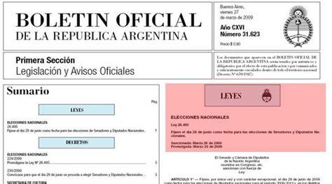 Acceso libre y gratuito al Boletín Oficial, desde enero ...