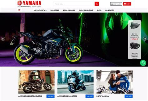 Accesorios Yamaha.com: la nueva tienda online de productos ...
