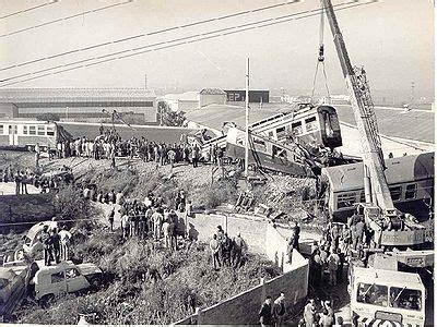 Accident de Les Franqueses del Vallès  6/12/1979  | Tren ...