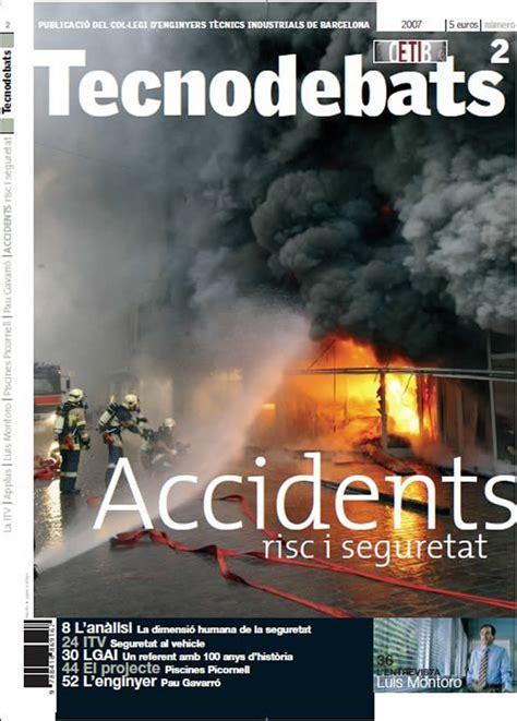 Accidents, risc i seguretat   Publicacions   Enginyers BCN