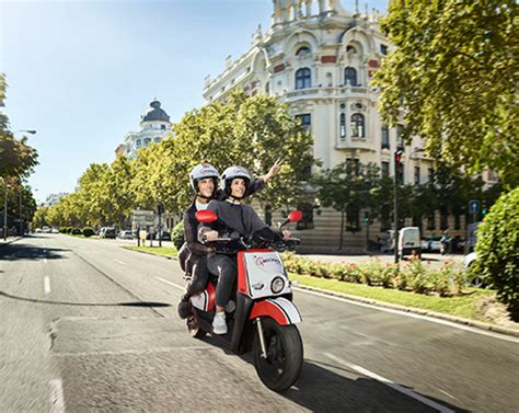ACCIONA despliega más de 1.000 motos eléctricas en Madrid ...