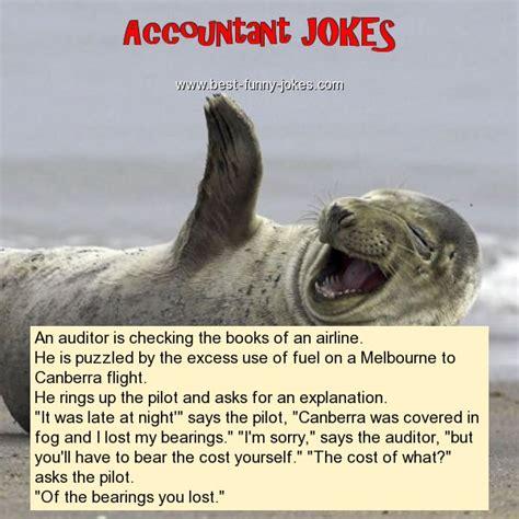 Accountant Jokes: An auditor is checki...