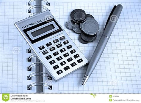 Accounting and Finance stock image. Image of boligrado ...