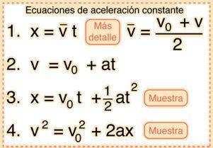 ACELERACIÓN | Laboratorio de Física Colgesan