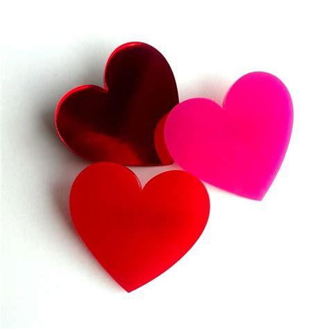 acrylic love heart brooch by twiggd | notonthehighstreet.com