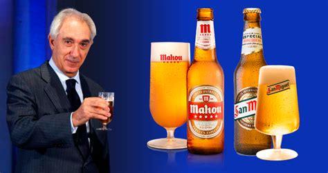 Actas fiscales a la cervecera de José Antonio Mahou
