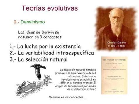 Actividad 1 Linea del tiempo  Teorias de la evolucion ...
