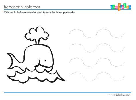 Actividad color azul   Cuadernos para niños
