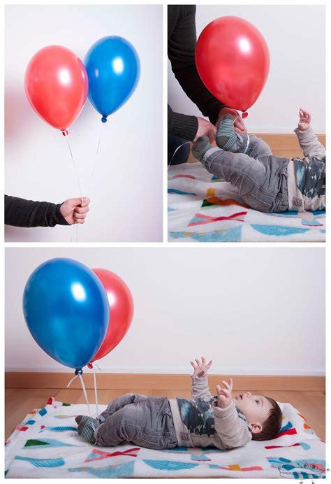 Actividades con globos de helio para bebés   Actividades ...