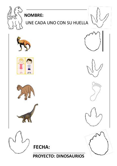 Actividades Para Trabajar El Tema De Los Dinosaurios En ...