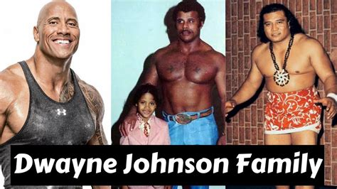 Actor Dwayne Johnson Family Photos With Partner,Former ...