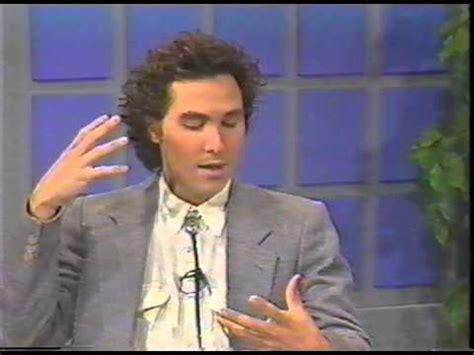 Actors, Ken Rambo, West Holden Interview w/TV Journalist ...