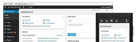 Actualiza a WordPress 3.8 | Diseño Web Barcelona | Coexia
