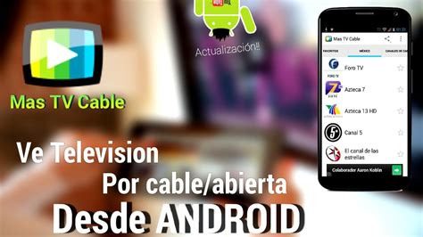 Actualización  Ve TV por Cable y Abierta Online Desde ...