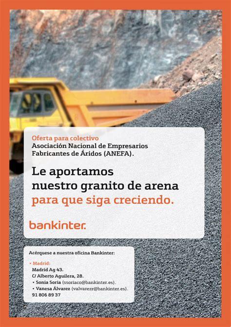 Acuerdo con Bankinter para mejorar la financiación ...