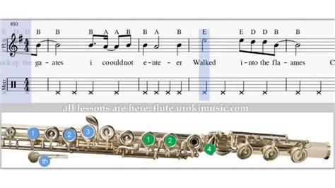 Adam Lambert   Ghost Town   How To Play Western flute ...
