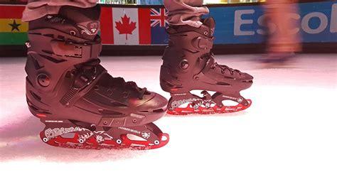 Adapta tus patines para patinaje en hielo   YouTube