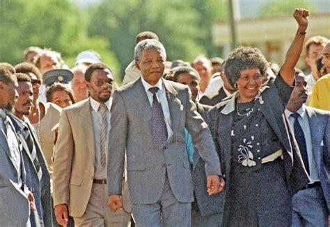 Address on the Release From Prison   Nelson Mandela 1990