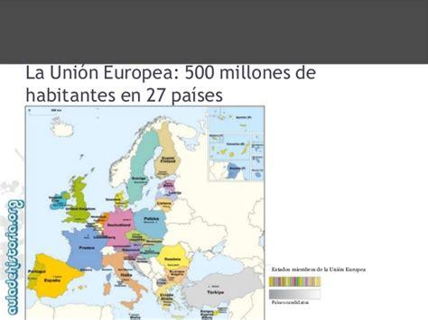 Adh 3 eso la unión europea