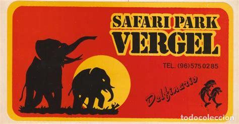 adhesivo, pegatina del safari park vergel. años   Comprar ...