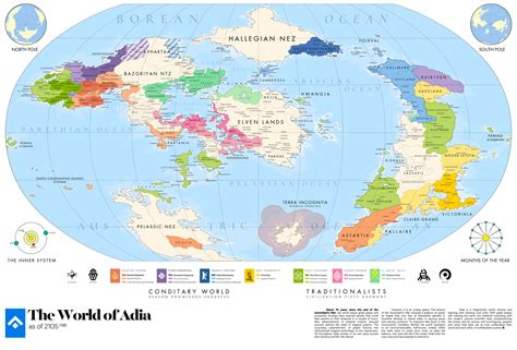 adia | Great Map of the World by rajavlitra on DeviantArt ...