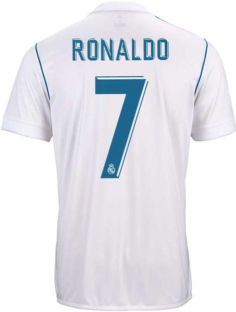 adidas Cristiano Ronaldo Real Madrid Home Jersey 17 18