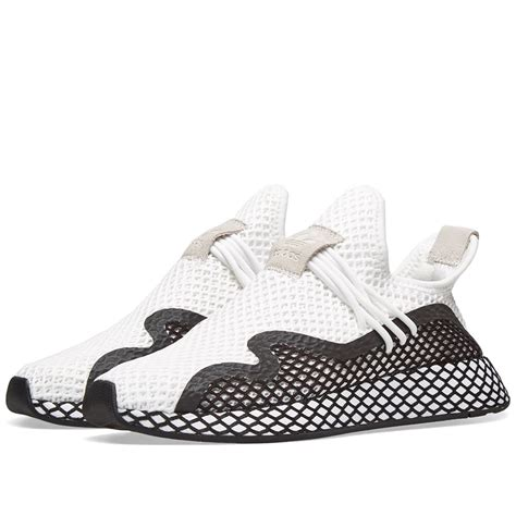 Adidas Deerupt S Runner White & Core Black | END.