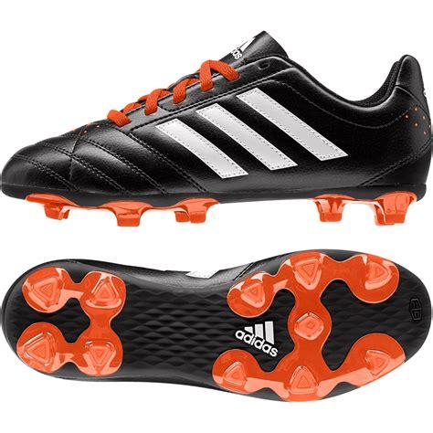 adidas Goletto V FG Black Orange Boys Junior Football ...