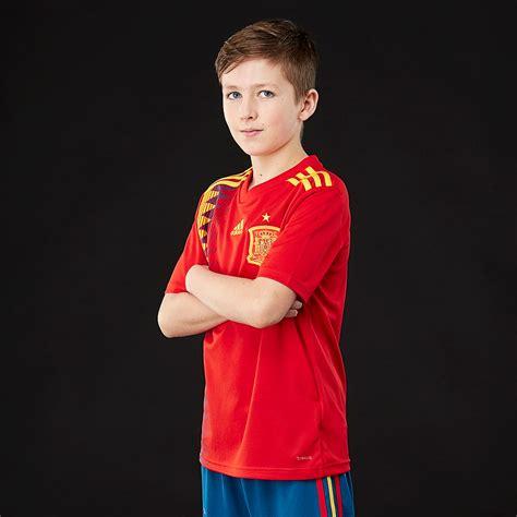 adidas Spain 2018 Home Kids Shirt   Boys Replica   BR2713 ...