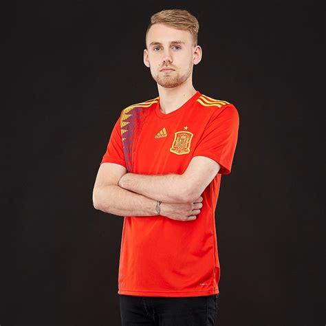 adidas Spain 2018 Home Shirt   Mens Replica   CX5355 ...
