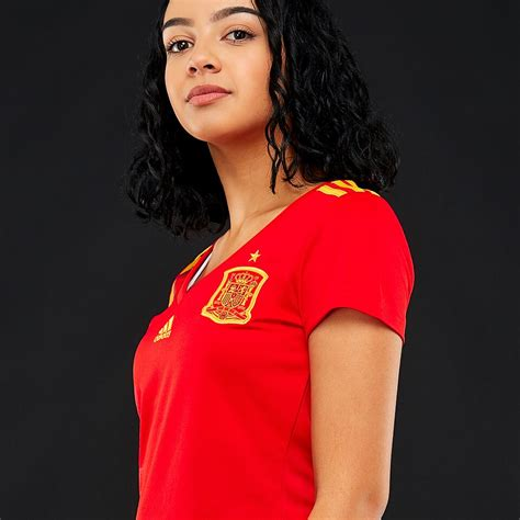 adidas Spain 2018 Home Womens Shirt   Womens Replica ...