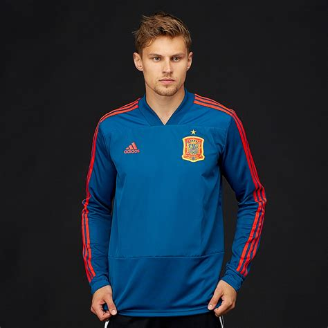 adidas Spain 2018 Training Top   Mens Replica   CE8820 ...