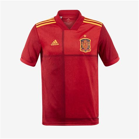 adidas Spain 2020 Home Shirt Youth   Victory Red   Boys ...