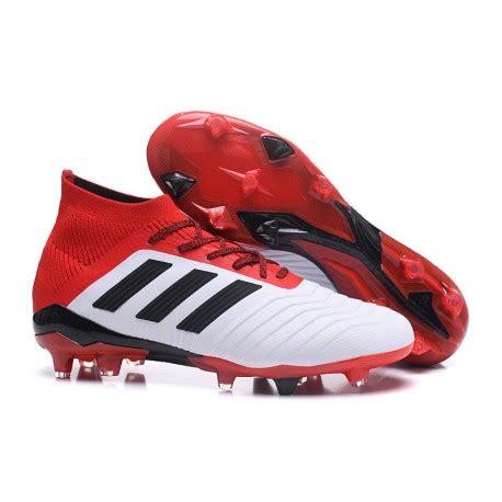 adidas Tacos de Futbol Predator 18.1 Fg   Blanco Rojo