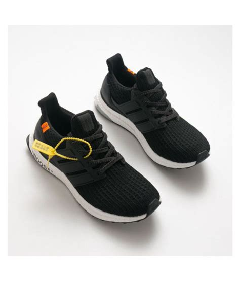 Adidas Ultra Boost Running Shoes Black: Buy Online at Best ...