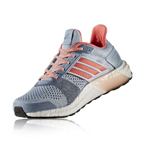 Adidas Ultra Boost ST   Womens Running Shoes   Easy Blue ...