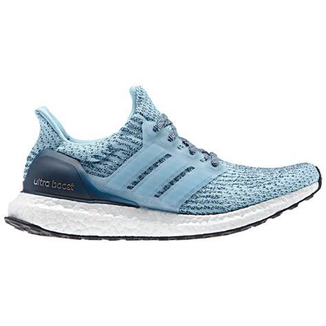 adidas Women s Ultra Boost Running Shoes   Blue ...