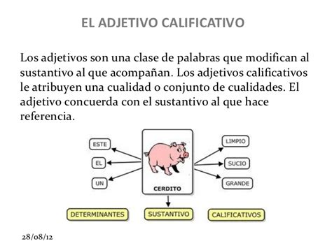 Adjetivo calificativo