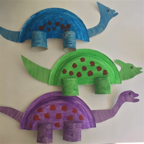 Adorable Dinosaur Paper Plate Craft for Toddlers   Living ...